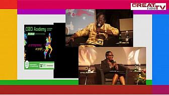 CGECY ACADEMY : Témoignages de Mesdames Safoura FADIGA et Cécile KOUASSI au Panel 2