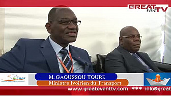 SINPORT 2014: Interview du ministre ivoirien du Transport