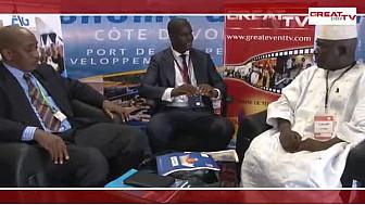 SINPORT 2014: Entretien avec les Responsables de la délégation guinéenne