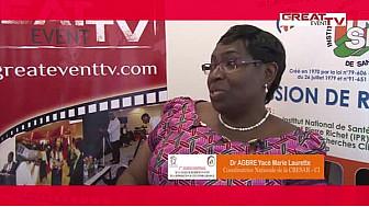 Entretien avec Dr AGRE Yacé, Coordinatrice Nationale de la CRESAR-CI