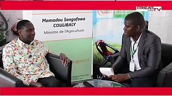 SARA 2015: Entretien avec le Ministre ivoirien de l'Agriculture