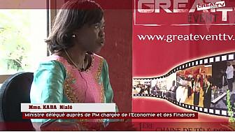 GIABA: Entretien avec Mme KABA Nialé, Ministre Déléguée auprès du PM ivoirien Chargée de l'Economie et des Finances