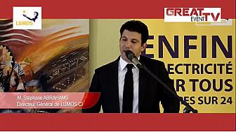 Afrique/Energie: Lancement officiel du service d'électricité solaire de LUMOS Global à Bingerville