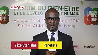 Les réactions de quelques panélistes au Forum Etre & Vivre d'Abidjan
