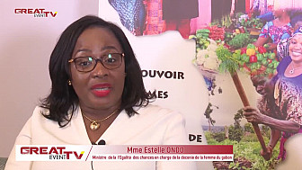 Entretien avec la ministre gabonaise Estelle ONDO