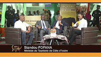 Entretien avec les ministres ivoiriens du Tourisme, de la Culture et Francophonie, du DG de Côte d'Ivoire Tourisme