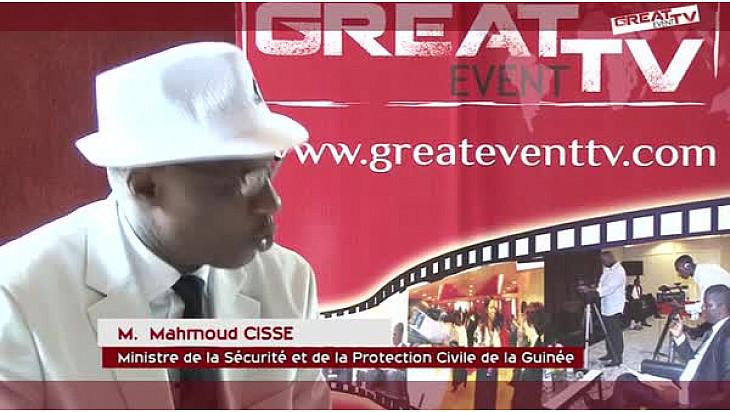 GIABA: Entretien avec Dr Mahmoud CISSE, Ministre de la Sécurité et de la Protection Civile de la Guinée