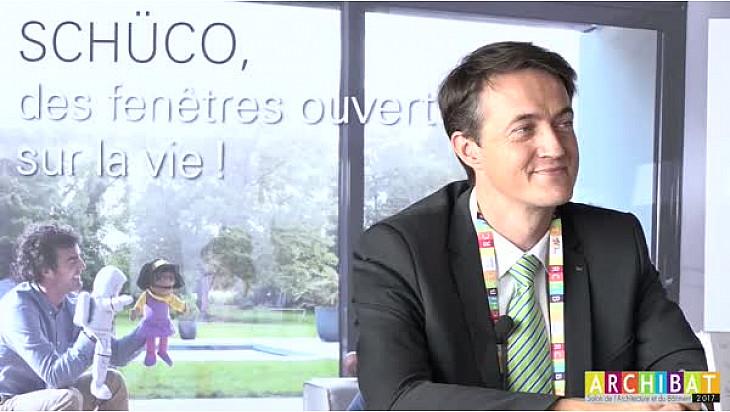 ARCHIBAT 2017: M. Aurelien ANSA, représentant du groupe SHÜCO