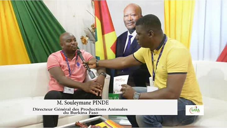 SARA 2017: Entretien avec le DGPA du Burkina Faso