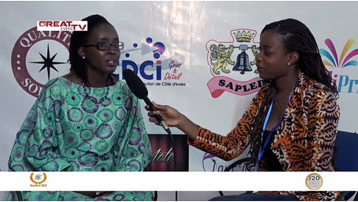 Entretien avec Mme Diane Adou, Présidente de la Senior ILT