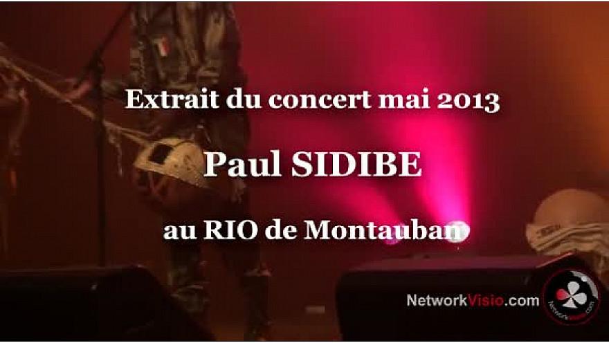 Paul SIDIBE virtuose de Kamele n'goni chanteur et musicien Malien en concert au RIO de Montauban en mai 2013