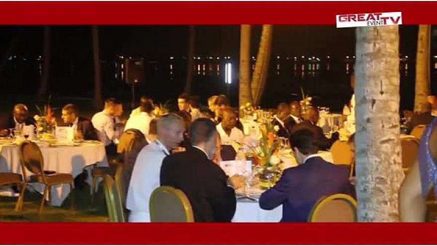 Dîner à l'occasion de la réunion du groupe G7 des Amis du Golfe de Guinée à Abidjan