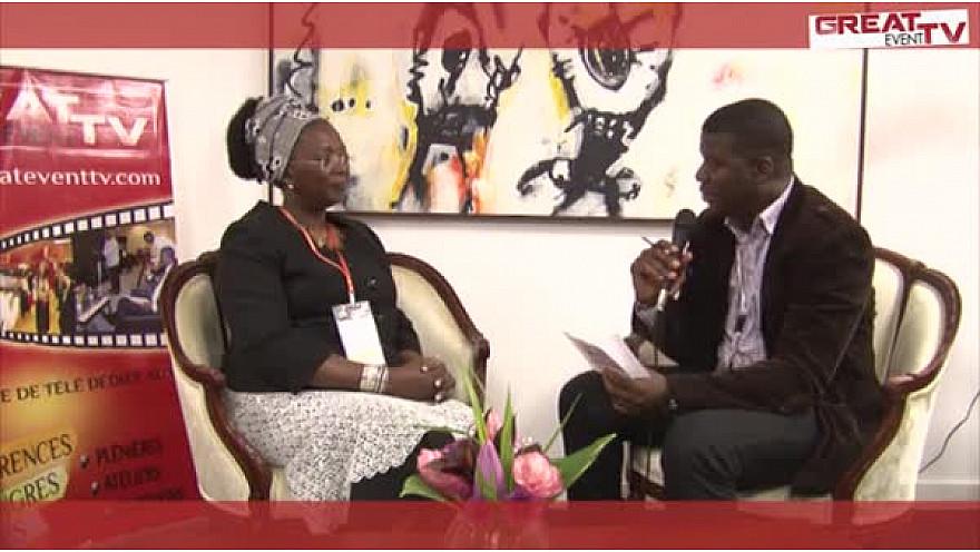 ICC 2015: Entretien avec Mme Mariam Dao Gabala, PCA de SOLIDARIDAD