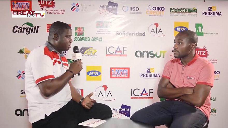Entretien avec le chocolatier ivoirien Axel-Emmanuel GBAOU