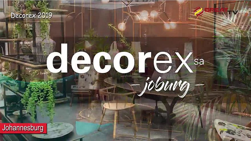 DECOREX JOBURG 2019 salon d'architecture et de design à Johannesburg Afrique du Sud