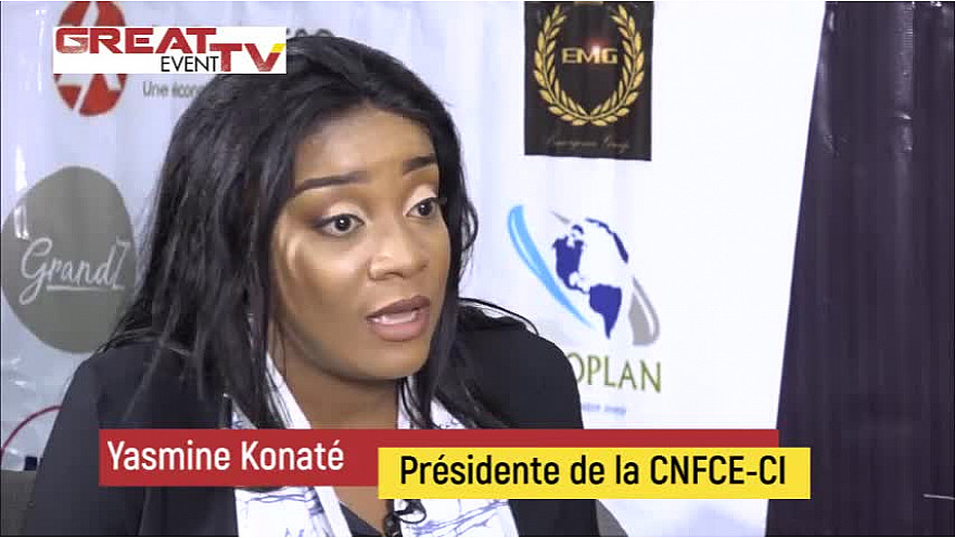 Entretien avec Mme Yasmine Konaté, Présidente de la CNFCE-CI