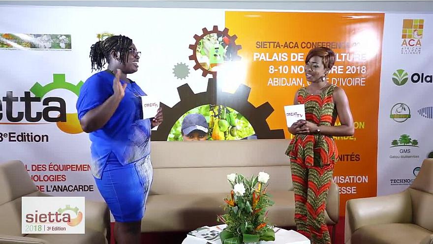 Nos charmantes présentatrices Méliane Kuny et Chantal Karicha font le bilan de la deuxième journée