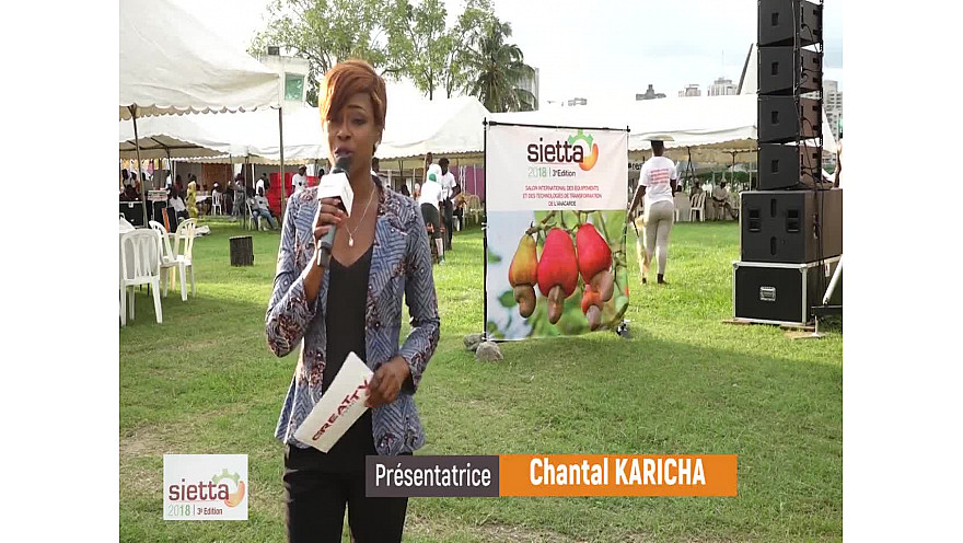 Fin du SIETTA 2018 avec notre présentatrice Chantal KARICHA