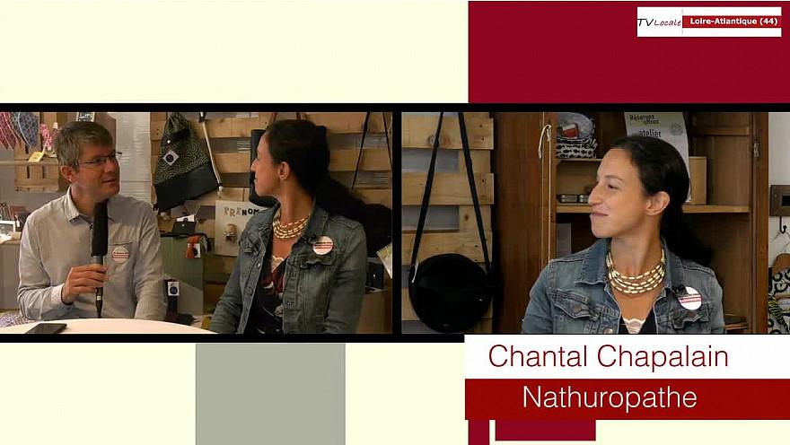 Les Rendez-Vous Economiques 44: Chantal Chapalain - Naturopathe - émission d'AssoTvlocale Loire-Atlantique  #Smartrezo.com