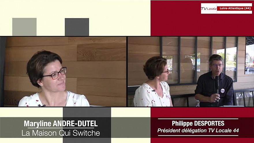 Les Rendez-vous Économiques : Maryline André-Dutel - Les ateliers de La Maison Qui Switche @interview