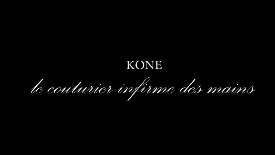 Koné , le couturier infirme des mains